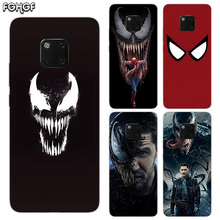 TPU Silicone Phone Back Cases For Huawei Mate 20X 20 10 9 Pro 8 7 Shell Hull Heart Bumper Cover Venom Marvel