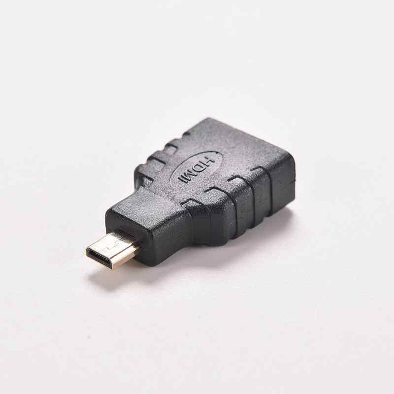 Mini Micro B Nam Mạ Vàng dành cho HDTV Camera F/M HD 1080 P Nối Dài Cổng Kết Nối Bộ Chuyển Đổi HDMI 1.4 MỘT Nữ SANG HDMI