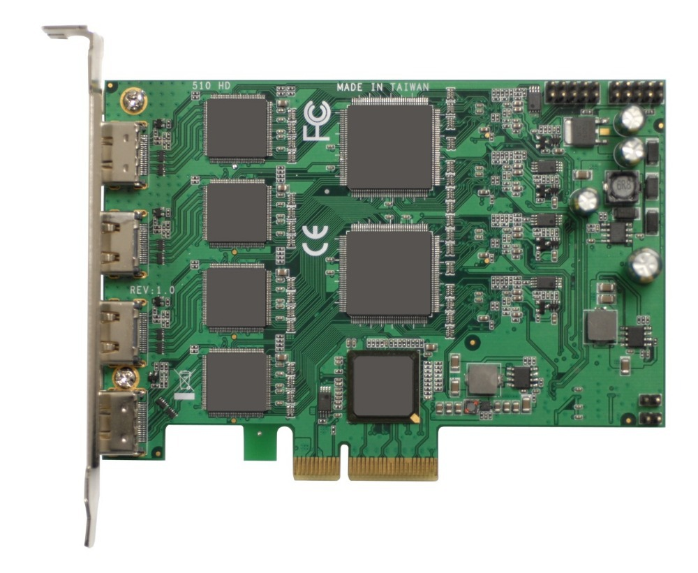 все цены на  PCI Express HD Video Capture Card 1080p - 4 Channel HDMI Real Time  онлайн
