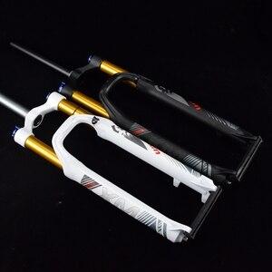 LUTU Новое поступление дисковый тормоз алюминиевый 26/27. 5 дюймов MTB пневматическая подвеска shox Велосипедная вилка