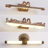 Светодиоды для зеркал амбициозное освещение скандинавские Старинные Настенные Лампы приспособления для макияжа барбершоп туалетный стол