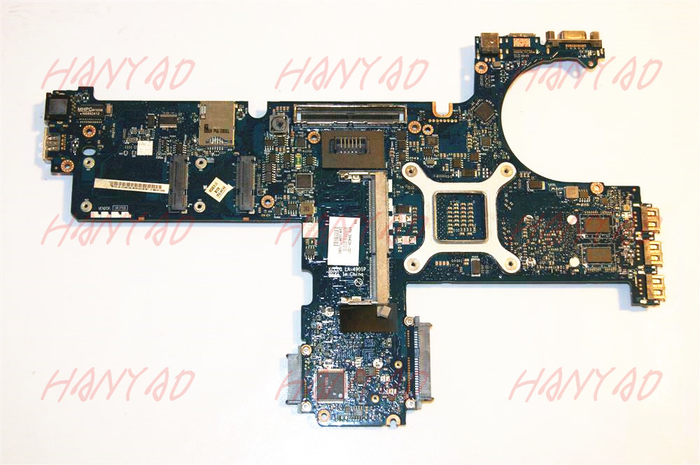 for hp 8440p 8440w laptop motherboard 594026 001 la 4901p motherboard Free Shipping 100 test ok in Laptop Motherboard from Computer Office