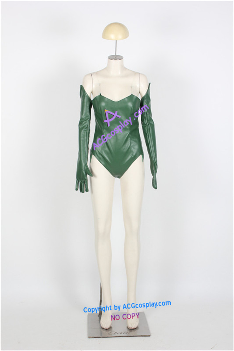 Poison Ivy Costume faux leather made ACGcosplay title=