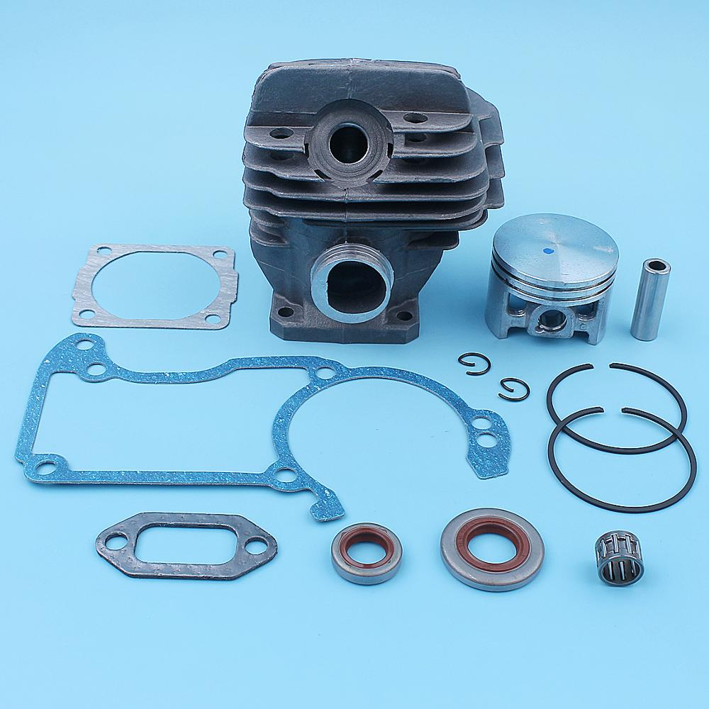 44 7mm Nikasil Plated Cylinder Piston Kit For Stihl 026 026PRO MS260 Big Bore Chainsaw Top End Replacement Parts