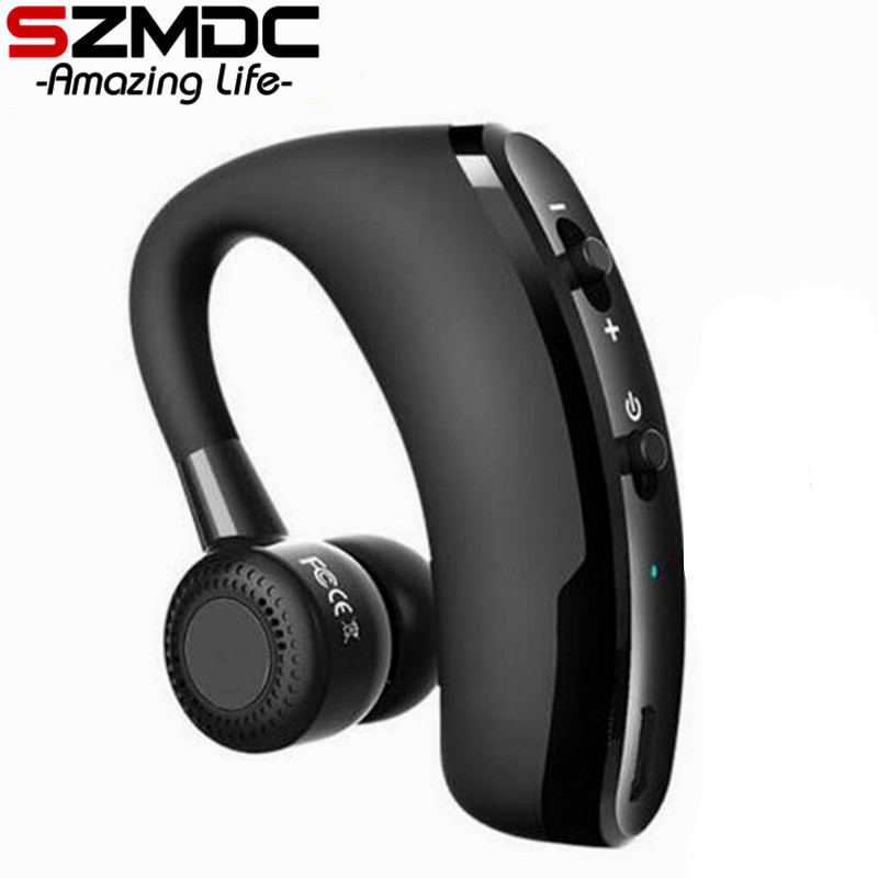 Handsfree Wireless Bluetooth Earphones Noise Cancelling Business Wireless Bluetooth Headset with Mic for Driver Office Sports bh790 stereo v4 1 bluetooth wireless headphones car driver handsfree with mic earphone business headset for iphone android sp029