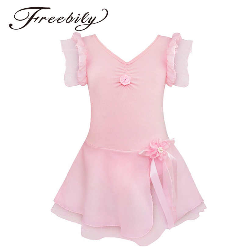 7c848fcbf Detail Feedback Questions about Kids Girls Ballet Dress Gymnastics ...