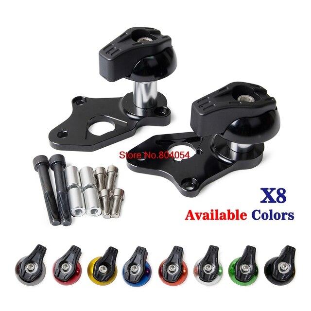 CNC Aluminium Frame Sliders Crash Pads Protector for Suzuki GSXR600 ...