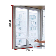 3 pcs DIY Self-adhesive Anti-mosquito Net Flyscreen Curtain Insect Fly Mosquito Bug Mesh moustiquaire fene Home Supplies