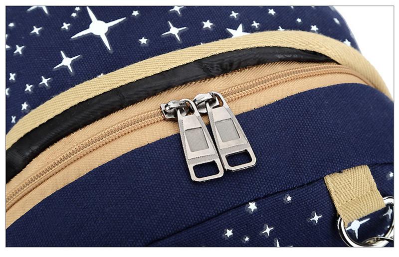 (3)3 pièces/ensemble sac à dos sacs d'école