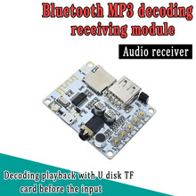 Bluetooth Audio Receiver Bluetooth MP3 Decoding USB TF Card Board Decoding Broadcast Output Level Before Play(China)