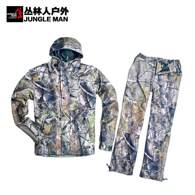Remington APG Camouflage Hunting Clothes Suit Camping Safari Clothing Water Repellent Mesh Lining Spring Models C233