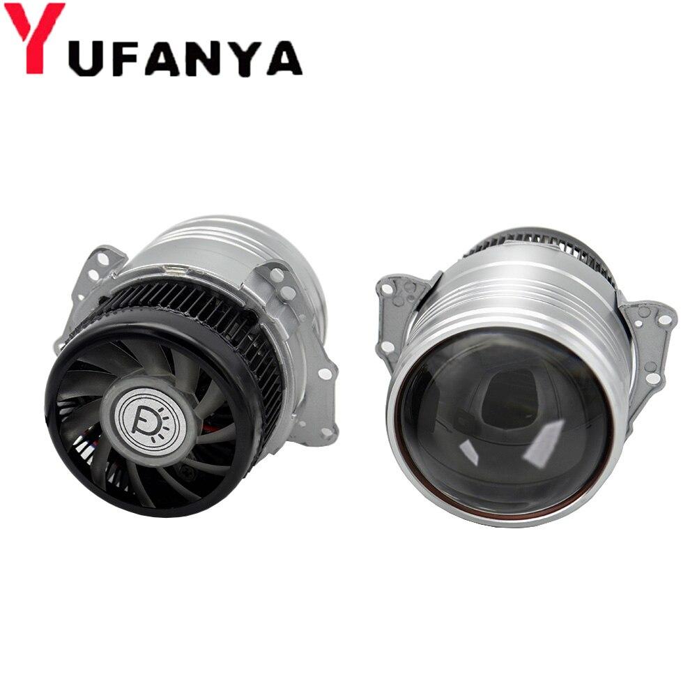 3 0 inch Bi LED Projector Headlights Lens LHD High and Low Beam Auto Headlamp Light