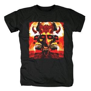 Image 5 - Bloodhoof destroyer666 brutal death metal thrash metal black  cotton t shirt Asian Size