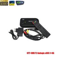 Andriod & dvb t2 Dois-em-um caixa de tv Amlogic s8051 + 8G smart tv android caixa de tv inteligente caixa de TV android dvbt2 dvbt2 + kodi set top caixa