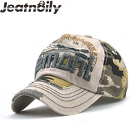 JEATNOILY Summer Fall Cotton Fight Color Hat Fashion For Women And Men Camouflage Baseball Cap