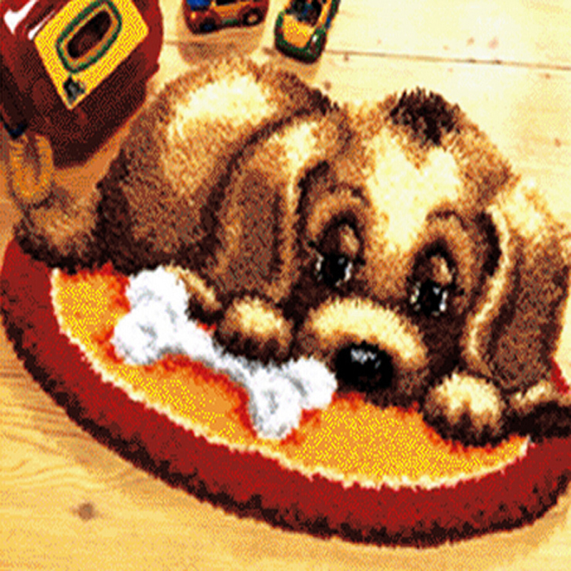 Rug Dogs Embroidery Designs: Aliexpress.com : Buy DIY Kits Unfinshed 3D Double Dip