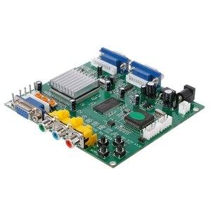 Image 4 - Аркадная игра RGB/CGA/EGA/YUV в двойной VGA HD видео конвертер плата адаптера GBS 8220