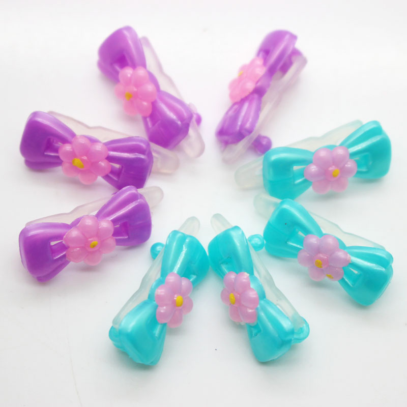 Fashion Cute bowknot flowers kids hair clip bobby pins barrette hairpins accessories for girls hair ornaments hairgrip headwear women headwear 2017 retro hair claw cute hair clip for girls show room vitnage hair accessories for women