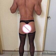 2017 Male Gay Multi color Sexy Lingerie Stockings Polyester Socks Men s New Stocking Men Socks