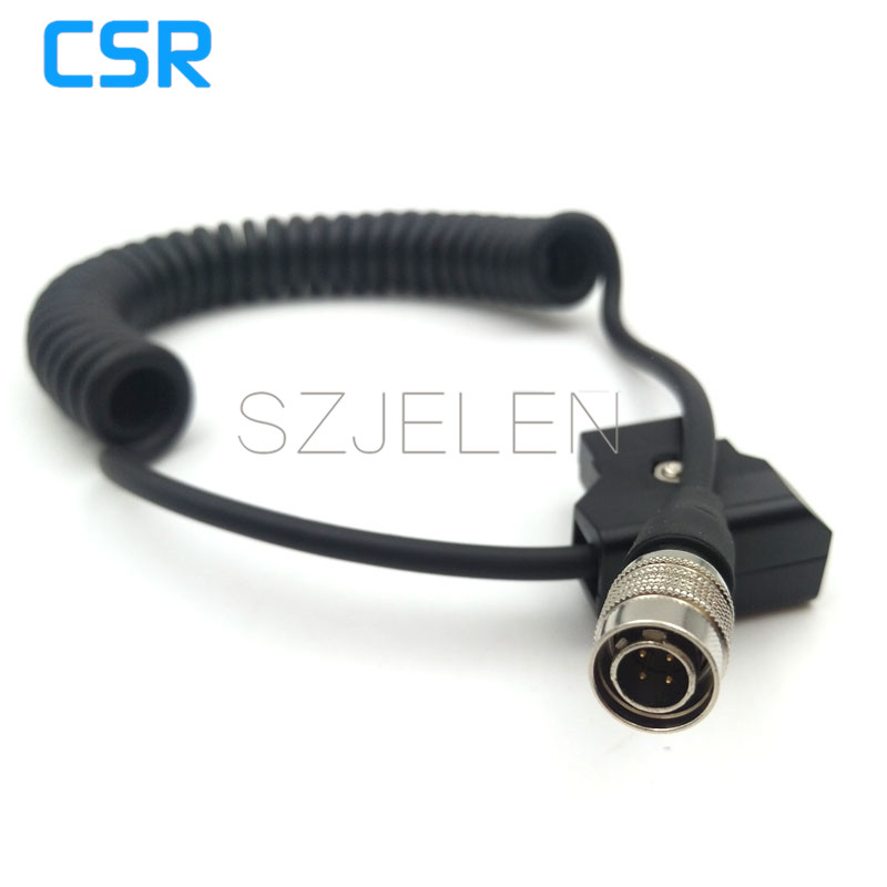 ZOOM F8/ Sound Devices 688 633 644 power line, D-TAP switch Hirose 4-pin plug connector hirose female hr 4pin hr10a 7p 4s connector to anton bauer power d tap sound devices power cables page 5