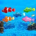 Mini jouet de bain bionique poisson électrique natation magique Le Bao poisson monde sous-marin mer profonde détection électronique poisson bébé bain cadeau