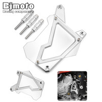 FSC-BM001 Motorcycle Front Sprocket Cover Panel Left Engine Guard Chain Cover Protection For BMW S1000R 2014-2015 S1000RR