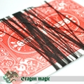 Invisible Thread Strings Black Accessory of Floating Magic Tricks Toys Length About 1.2 Meters