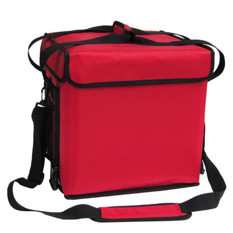 Sac à main 33L paquet réfrigéré déjeuner boîte fraîche vélo à emporter repas livraison sacs d'isolation valise de voyage sac de glace à bandoulière