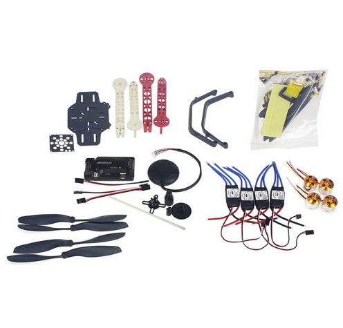 RC Drone Quadcopter 4-axis Aircraft Kit F330 MultiCopter Frame 6M GPS APM2.8 Flight Control No Transmitter No Battery F02471-E rc drone quadcopter 4 axis aircraft kit f330 multicopter frame 6m gps apm2 8 flight control no transmitter no battery f02471 e
