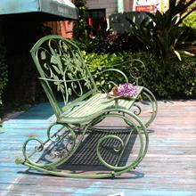 Американский кованого железа ретро открытый двойной качалка скамейка сад стул парк стул сад досуг украшение