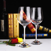 Free Shipping Crystal Glass Cups 2015 New Wholesale For Wedding Cocktail 400ML