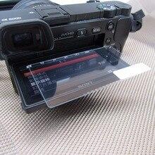 2 шт. закаленное Стекло для sony A6000 A6300 A5000 ЖК-дисплей Экран для sony DSLR Alpha Nex-7 NEX-6 NEX-5 0,33 мм 2.5D Экран протектор