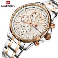 Men Watches NAVIFORCE Top Luxury Brand Men S Fashion Business Quartz Wrist Watch Male Waterproof Week
