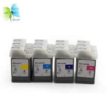 WINNERJET 12 Colors x 130ML PFI-101 PFI101 PFI 101 Pigment Ink Cartridge for Canon IPF5000 5000 Inkjet