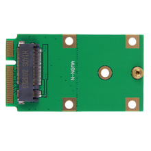 New New Mini PCI-E mSATA to NGFF Solid State Drives Adapter Card Converter Wholesale Drop Shipping