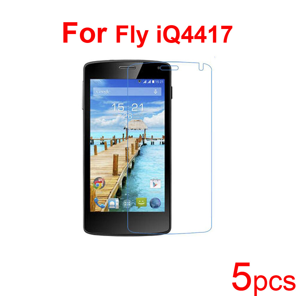 5pcs Screen Protector Clear/matte/Nano anti-explosion Guard Protective Films for Fly iQ452 Quad EGO/iQ4416/iQ4417/iQ4418 Phone