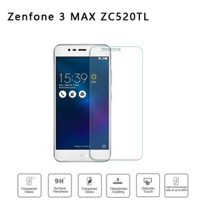 Image 5 - 2pcs Tempered Glass for Asus Zenfone 3 Max X008D X008 Protective Glass on ASUS ZenFone 3 Max ZC520TL ZC520 TL Screen Protector