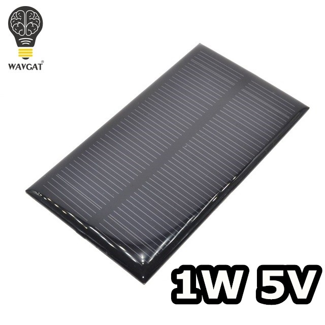 Smart Electronics Solar Panel 1w 5v Electronic Diy Small Solar Panel For Cellular Phone Charger Home Light Toy Etc Solar Cell Electronic Components & Supplies Active Components