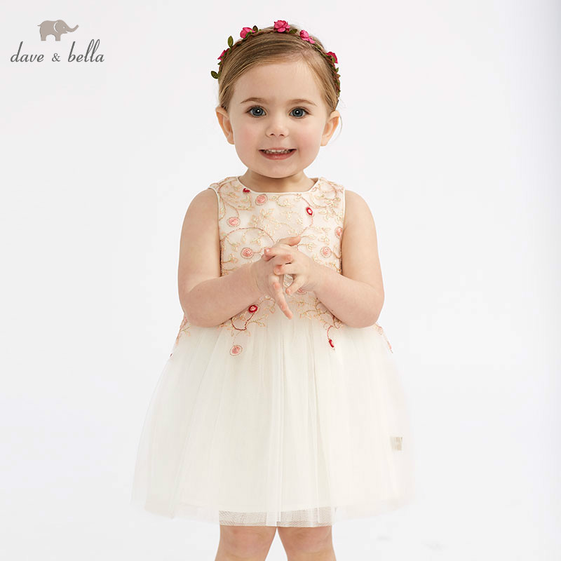 DB10614 DAVE BELLA summer baby girl princess clothes children birthday party wedding dress kids sleeveless boutique dressesDB10614 DAVE BELLA summer baby girl princess clothes children birthday party wedding dress kids sleeveless boutique dresses