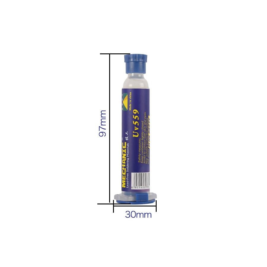 Tools : 10pcs lot Mechanic soldering flux paste NC-559-ASM Flux paste lead-free solder flux   Needles Welding Advanced Oil Flux Grease