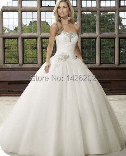 Winter Ball Gown Wedding Dress Vintage Organza Off Shoulder wedding brides  dress WM-0327 Dress for Brides 8d143c5b408c