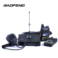 Baofeng Mini Car Radio Mini Car Walkie Talike 15W UHF 400 420MHz 20CH with T1 Mobile Radio station for Car Outdoor Hunting Radio