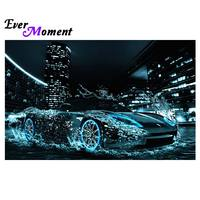 Ever Moment New Product Square Full Drill Diamond Painting Square Diamond Embroidery Luxurious Car In The