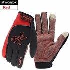 MOREOK Перчатки для занятий спортом в помещении и на открытом воздухе Чувствительные перчатки с сенс ✔