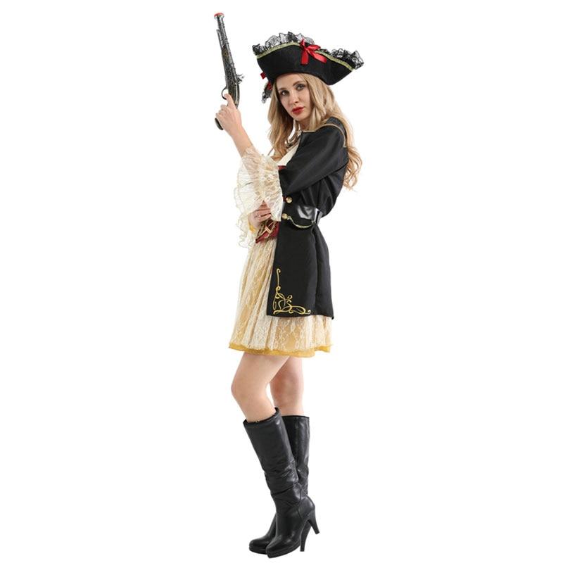 Ladies Pirates Buccaneer Halloween Costume 3