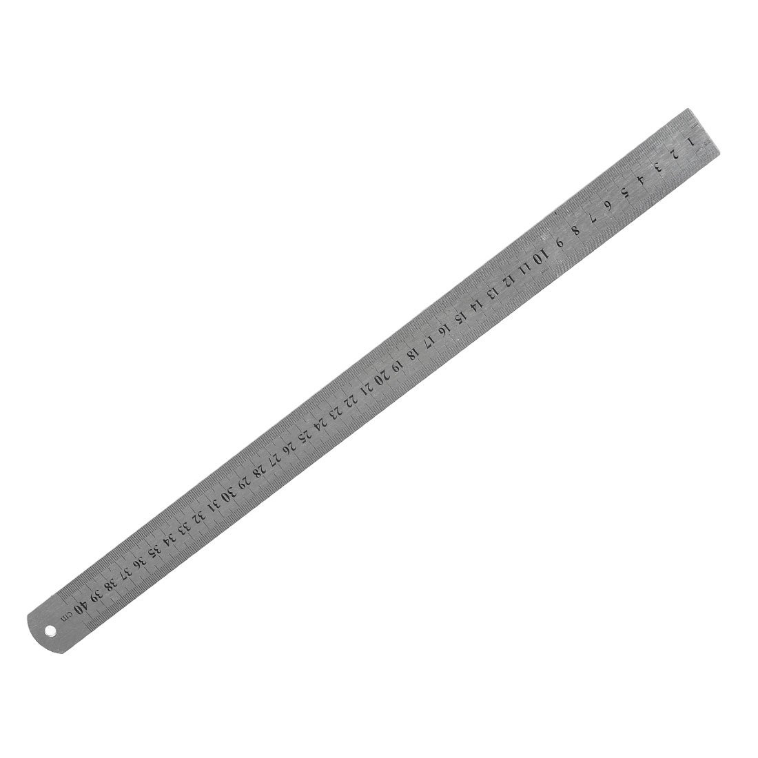 New And Hot Stainless Steel 16 Inch Straight Ruler Measuring Kit Metric 40cm