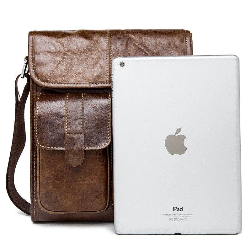 famous brand bag men messengerbags men' s men's one-shoulder bag, shoulder bag, casual, baotou, man bag luggage tag 5