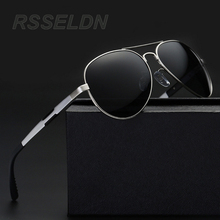 RSSELDN Hot 2017 Fashion Men s UV400 Polarized coating Sunglasses men Driving Mirrors oculos Eyewear Sun