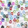 200 pcs/lot Square crystal beads  3