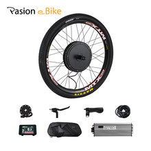 48V 1500W Cassette Motor Wheel 8/9 Speed Electric Bike Conversion Kit E Bike Set Electric Wheel for Bicycle Rear Hub Motor Wheel(China)
